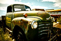 Green Chevy Truck