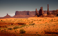 Chimneys - Monument Valley