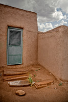 Taos Pueblo Doorway