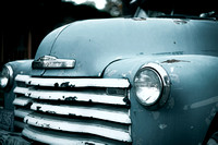 Blue Chevy Truck